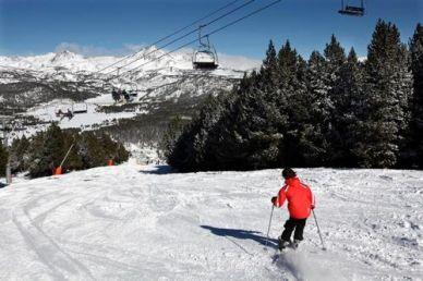 Skiing at Font Romeu (1.5 hr drive)